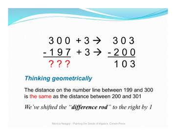 A Child-unfriendly subtraction problem