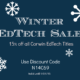 Corwin Winter EdTech Sale