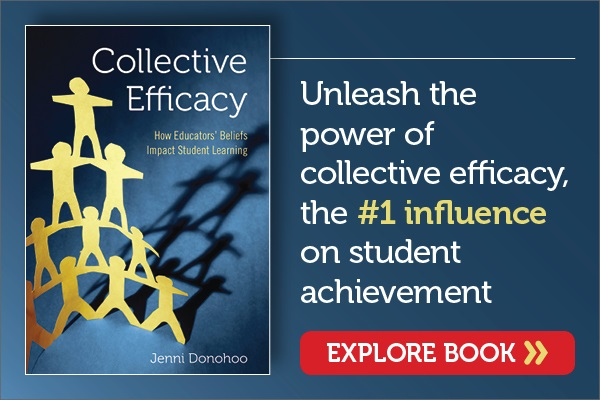 Donohoo Collective Teacher Efficacy