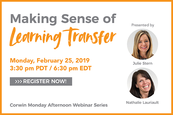 ULIE STERN & NATHALIE LAURIAULT on Making Sense of Learning Transfer